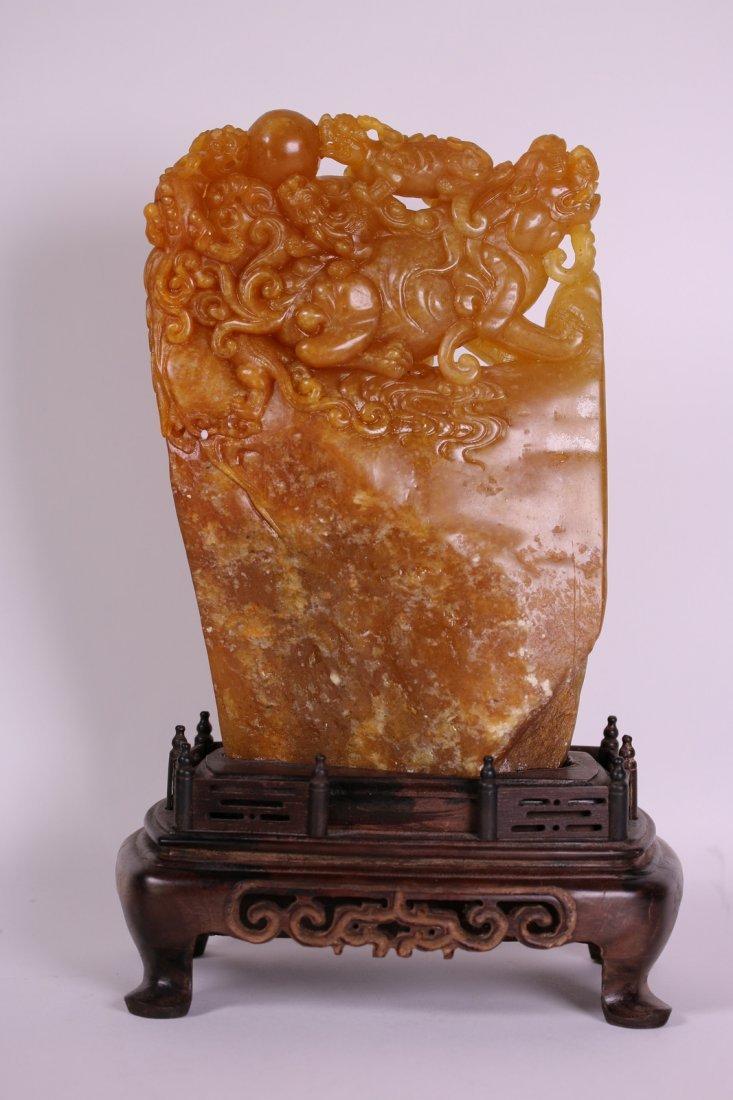 A Huge Shoushan/Tianhuang Stone