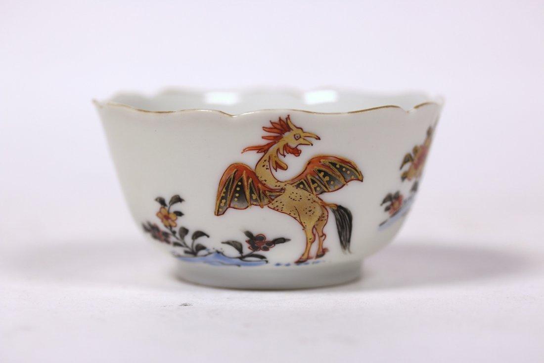 A Beautiful Chinese fammile rose bowl,Yongzhen period