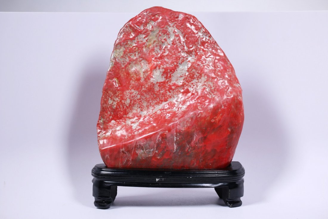 A Large Chicken Blood Stone - 2
