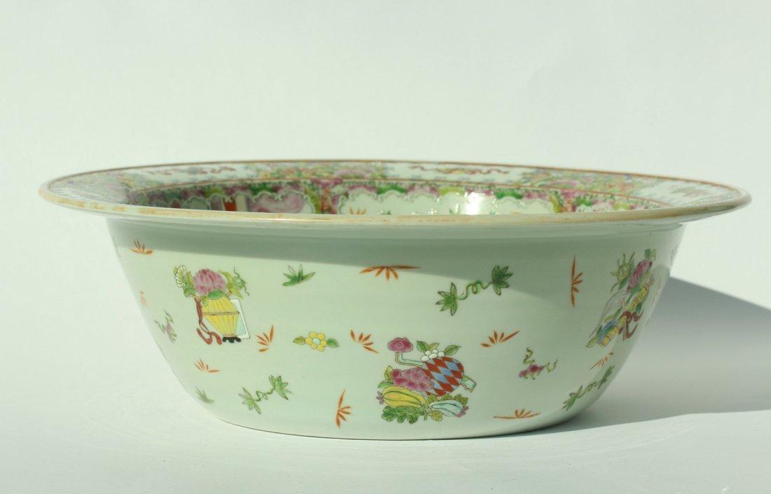 A  famille rose enameled porcelains,late Qing dynasty - 2