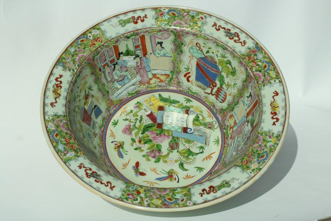 A  famille rose enameled porcelains,late Qing dynasty - 3