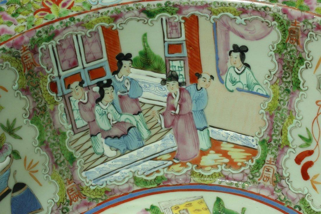 A  famille rose enameled porcelains,late Qing dynasty - 4