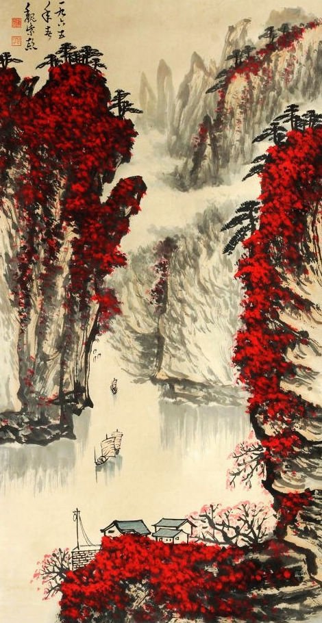 A CHINESE PAINTING , Attributed to Wei Zixi