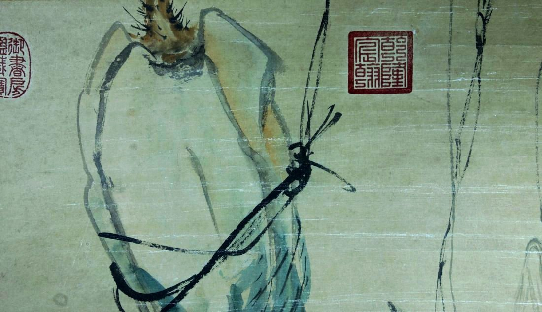 A VINTAGE CHINESE PAINTING , Attributed to Zhou Zhimian - 4