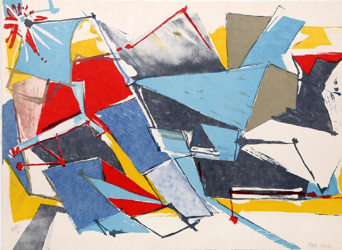 Jasha Green, Untitled 10, Lithograph