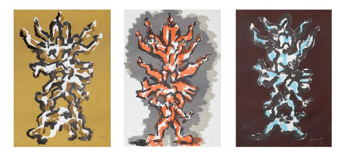 Jacques Lipchitz, Tree of Life , Portfolio of Three