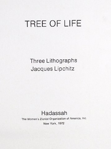 Jacques Lipchitz, Tree of Life , Portfolio of Three - 4