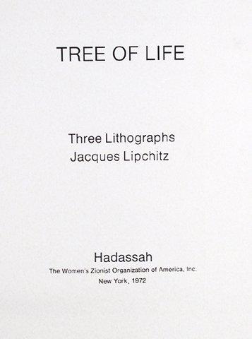 Jacques Lipchitz, Tree of Life , Portfolio of Three - 4