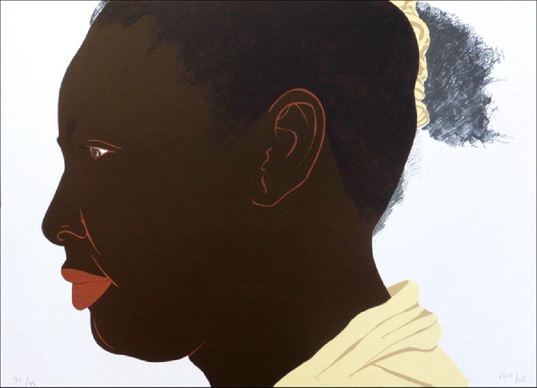 Ana Mercedes Hoyos, Sin Titulo - Portrait, Lithograph