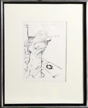 Pierre Bonnard, Windy Day, Lithograph