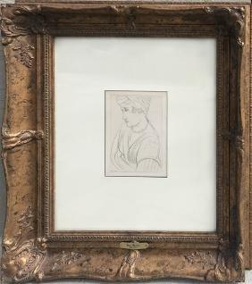 Henri Matisse, Portrait - Planche XXVII, Offset