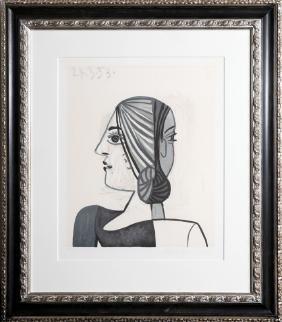 Pablo Picasso, Tete, Lithograph