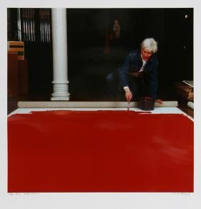 Curtis Knapp, Andy Warhol Red Series 3, Color