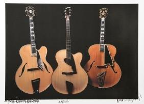 Jonathan Singer, Three Bass Acoustic Guitars,