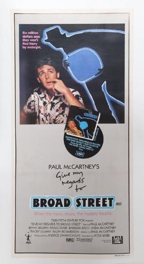 Paul McCartney's Give My Regards to Broad Street, Movie