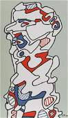 Jean Dubuffet Untitled Lithograph