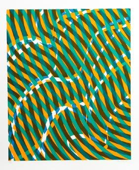 Stanley Hayter, Untitled 1, Aquarius Suite, Silkscreen