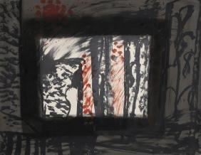 Howard Hodgkin, Sand, Lithograph