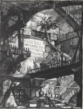 Giovanni Battista Piranesi, Herman Melville, Lithograph