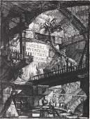 Giovanni Battista Piranesi, Herman Melville, Lithograph