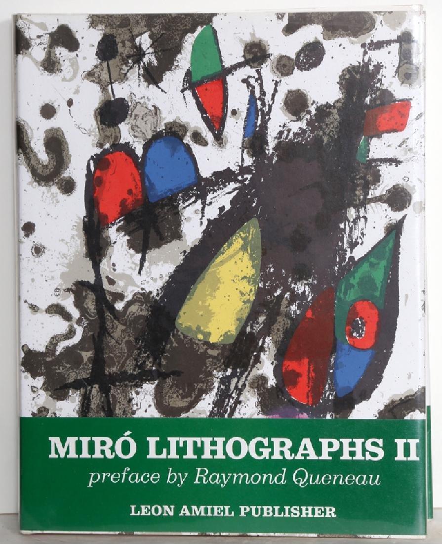 Joan Miro, Miro Lithographs Volume II, Book