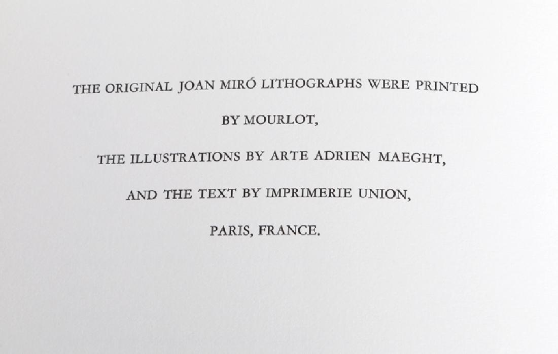 Joan Miro, Miro Lithographs Volume II, Book - 3