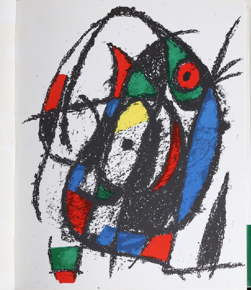 Joan Miro, Miro Lithographs Volume II, Book - 4