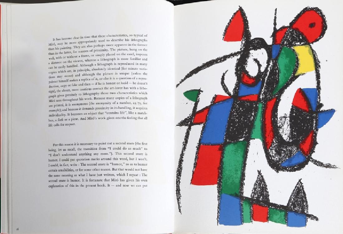 Joan Miro, Miro Lithographs Volume II, Book - 7