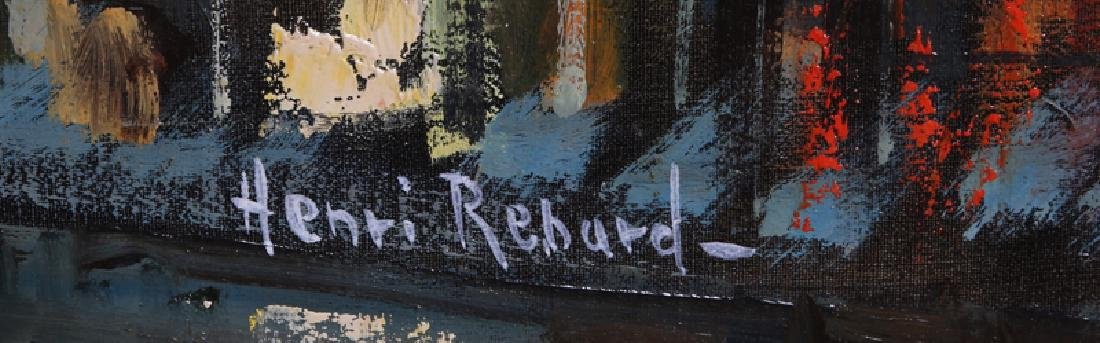 Paul Renard, Corner Cafe, Oil Painting - 2