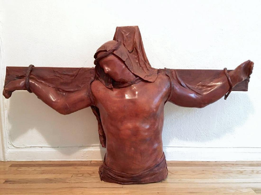 Daphne Du Barry, The Christ of the Angels, Mixed Media
