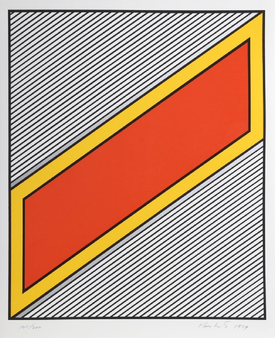 Nicholas Krushenick, Silver Image, Serigraph