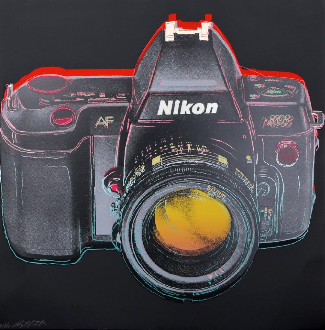 Rupert Jasen Smith, Nikon Camera from the Homage to