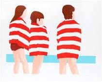 Patricia Sussman, The Beach, Serigraph