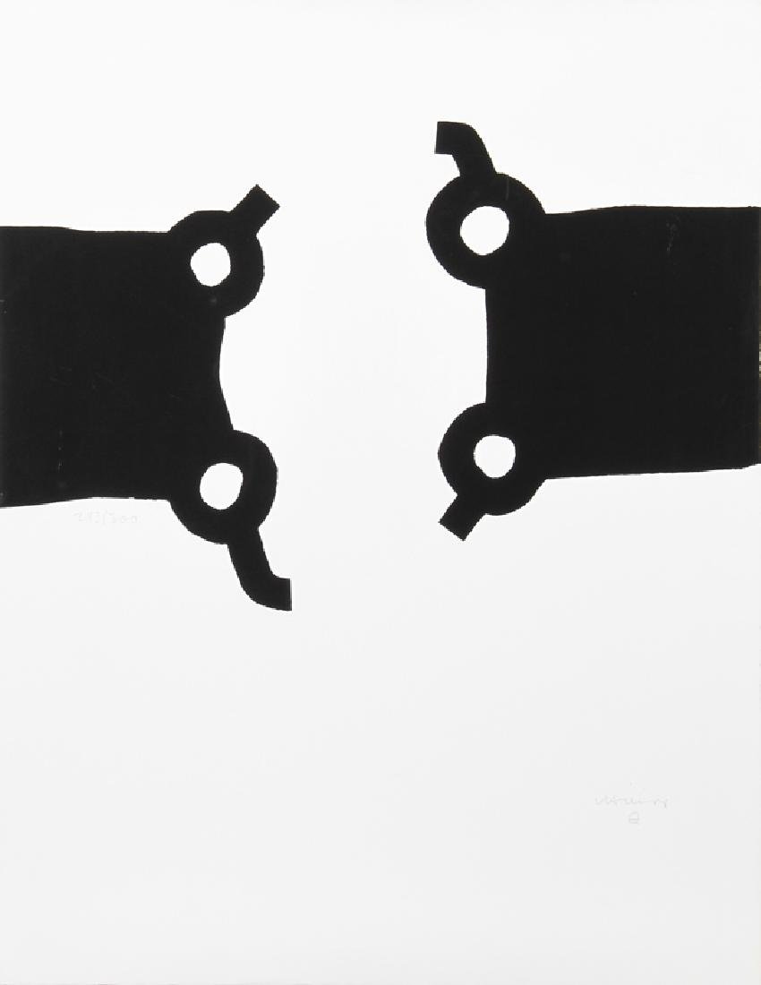 Eduardo Chillida, Competition and Harmony, Aquatint