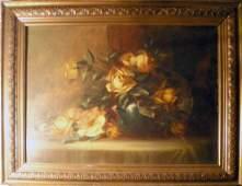 Douglas Arthur Teed, Still Life with Flowers, Oil