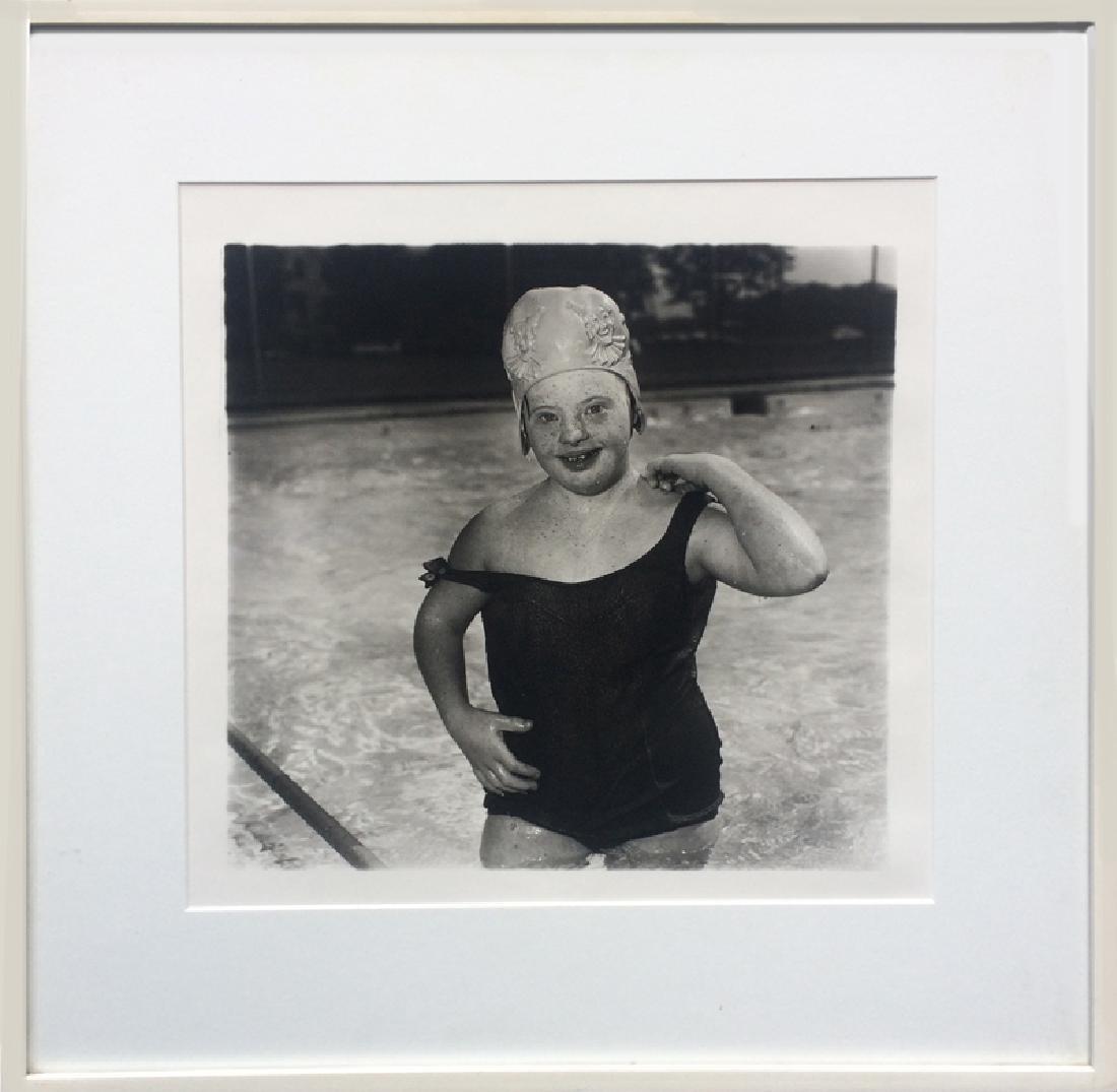Diane Arbus, Untitled - Girl in Swimming Cap (11),