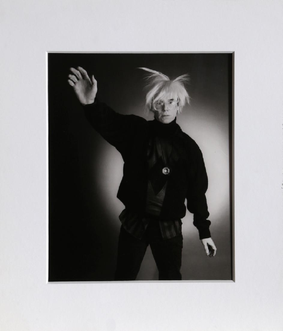 Christopher Makos, Andy Warhol Posing, Photograph