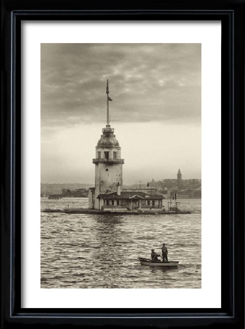 Ugur Varli, Maiden's Tower in Istanbul, Photograph