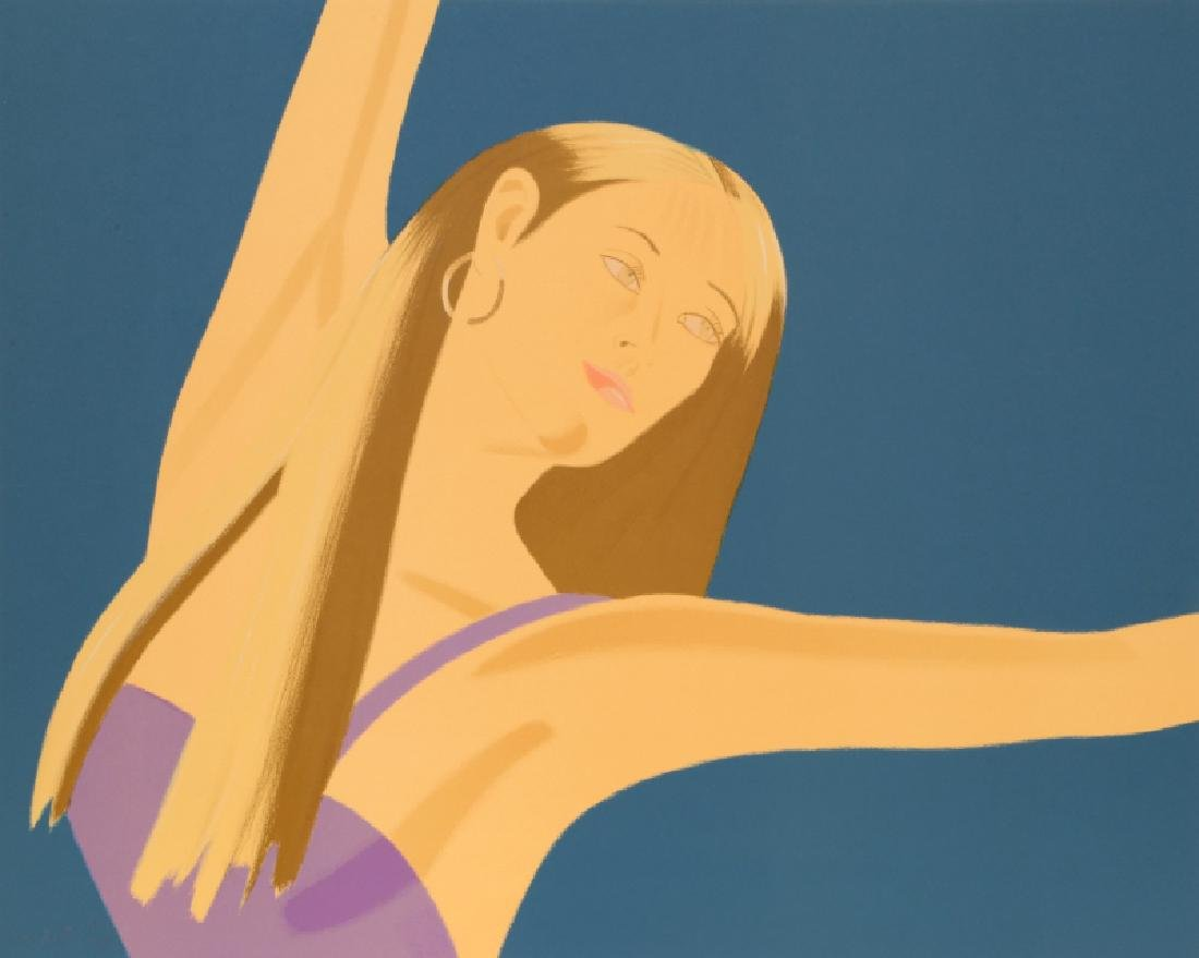 Alex Katz, Night: William Dunas Dance II, Lithograph