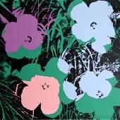 Andy Warhol, Flowers 1, Sunday B. Morning Serigraph