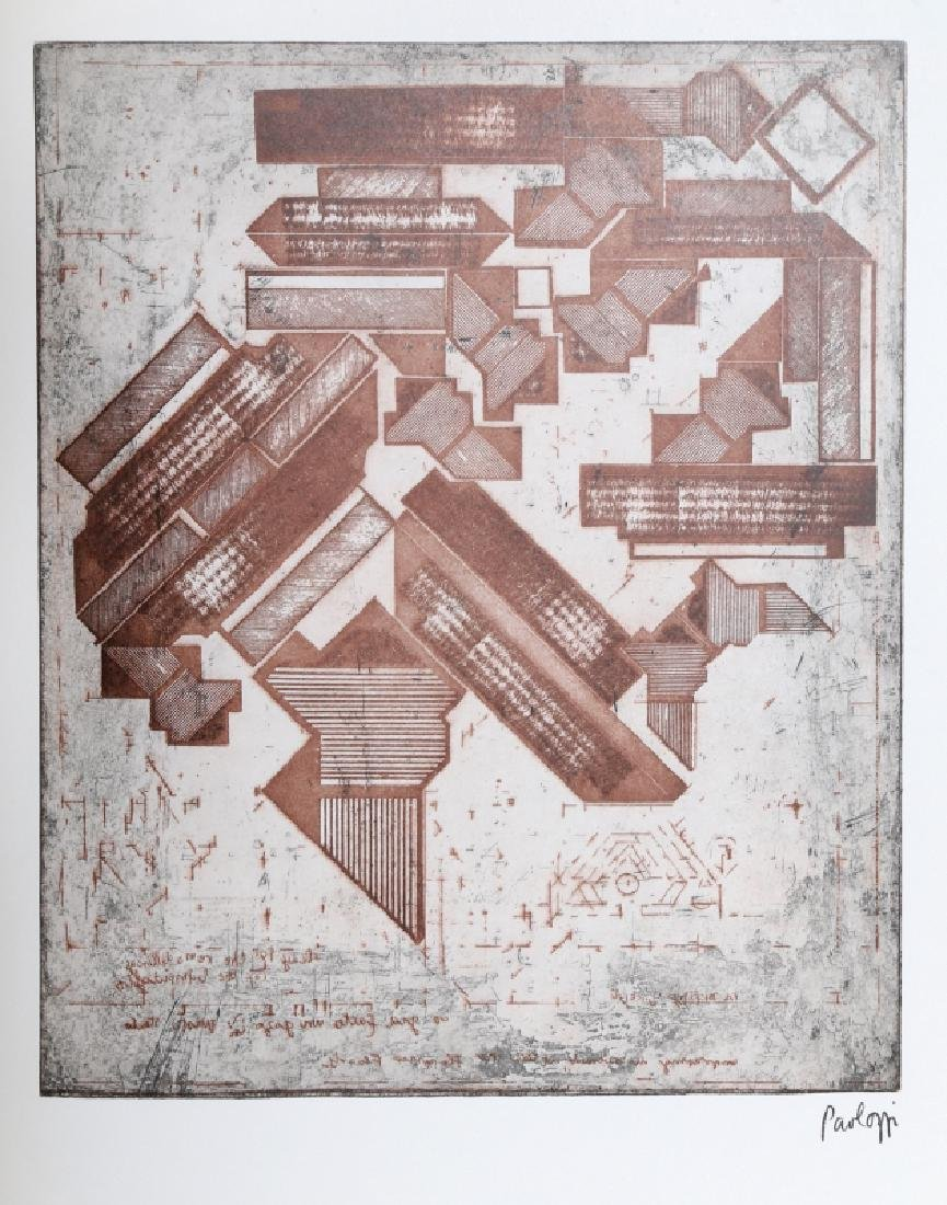 Eduardo Paolozzi, Architectural Abstract, Offset