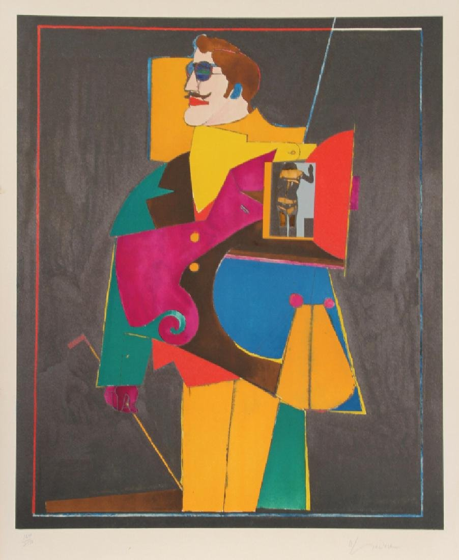 Richard Lindner, Heart from the After Noon Portfolio,