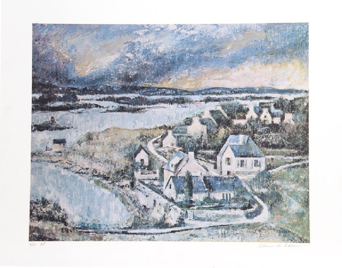 William Collier, Coast of Brittany, Lithograph