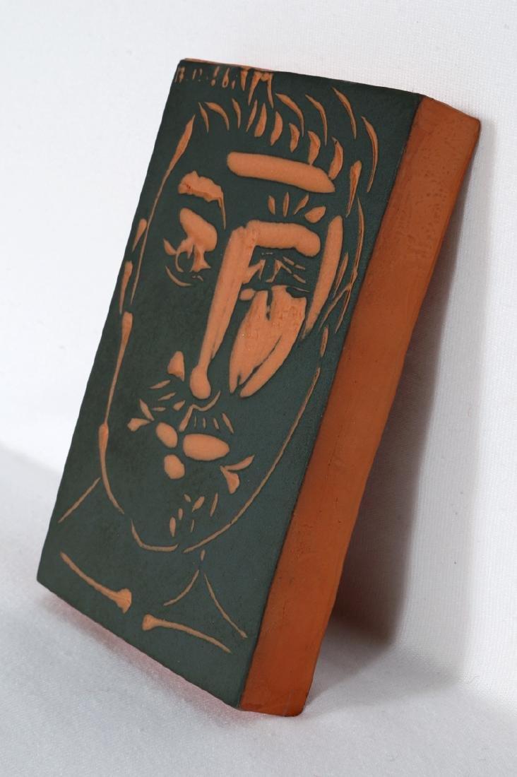 Pablo Picasso, Visage de Homme (Ramie 539), Red - 3