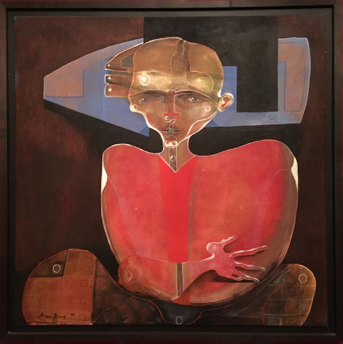 Eduardo Arranz-Bravo, Love Singer III, Oil Painting