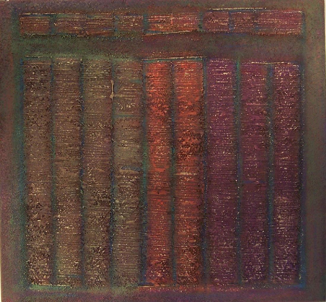 Warren Wolf, Untitled (The Death Series III - 2), Oil