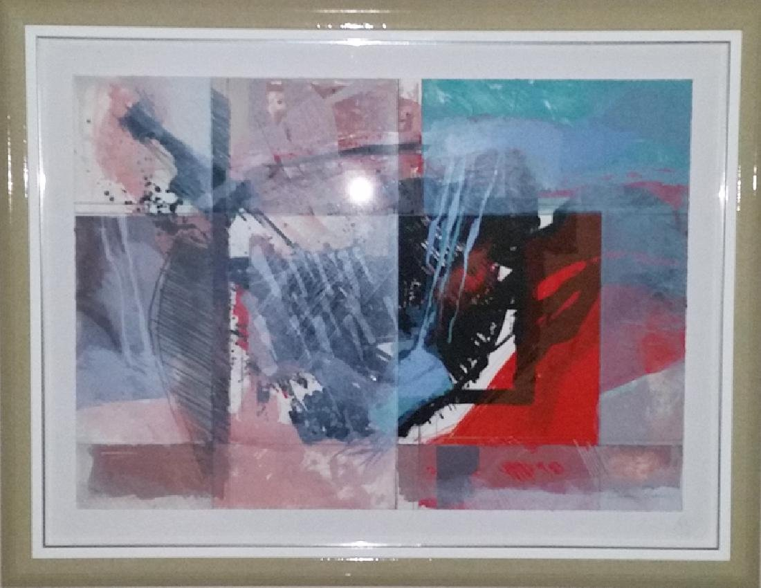Calman Shemi, Between Fog and Clarity, Lithograph,