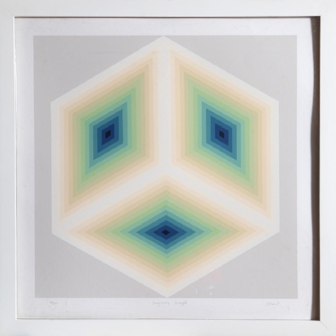 Jurgen Peters, Imaginary Triangle, Serigraph,