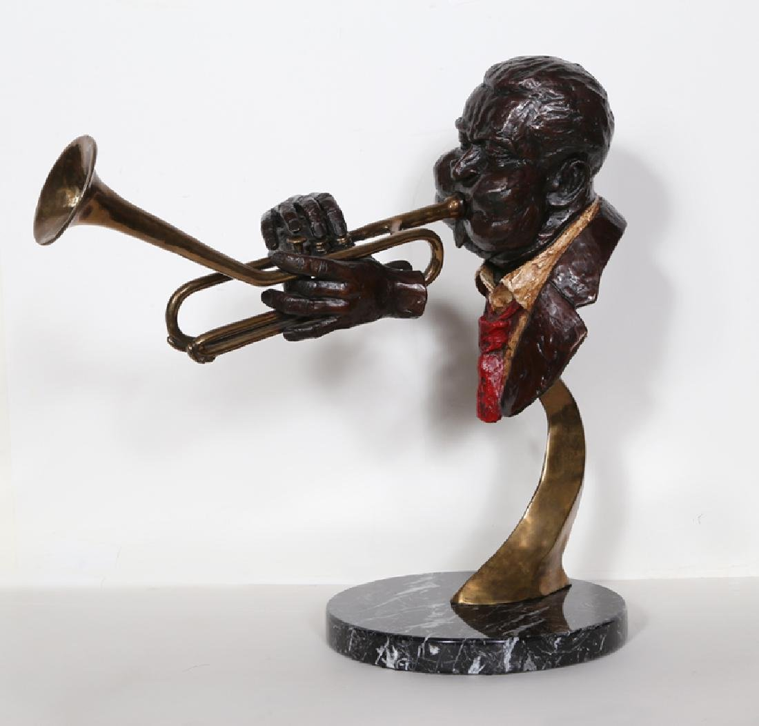 Ed Dwight, Dizzy Gillespie, Bronze and Brass with a