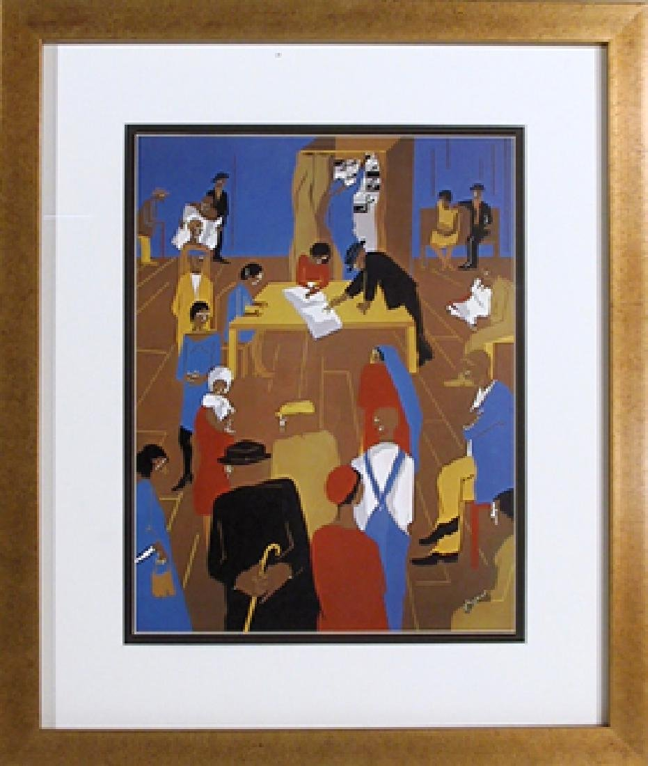 Jacob Lawrence, The 1920's, Offset Lithograph